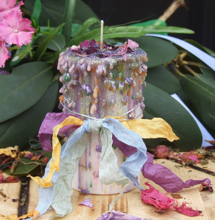 260 best candles images on pinterest candles gifs and candle ostara blossoms enchanted witchery candle 2x3 pillar springs awakening cherry blossom flora sciox Images