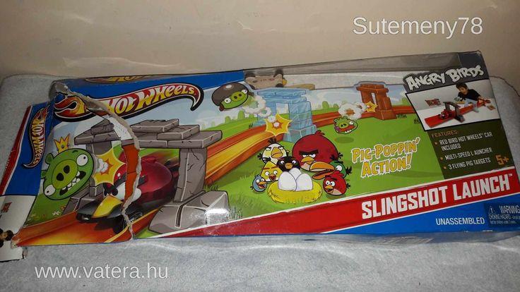 BS Játék - Hot Wheels Angry Birds kilövő pálya - 2500 Ft - Nézd meg Te is Vaterán - Szett - http://www.vatera.hu/item/view/?cod=2554914041