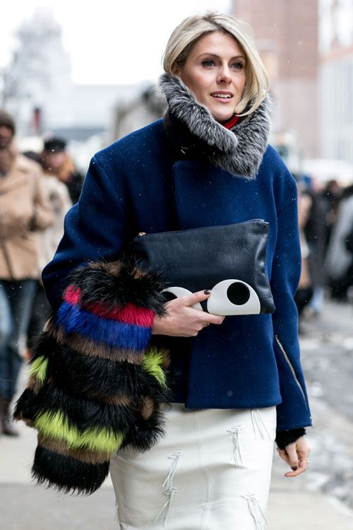 New York Fashion Week - Best streetstyle looks (13) - Elle.ro