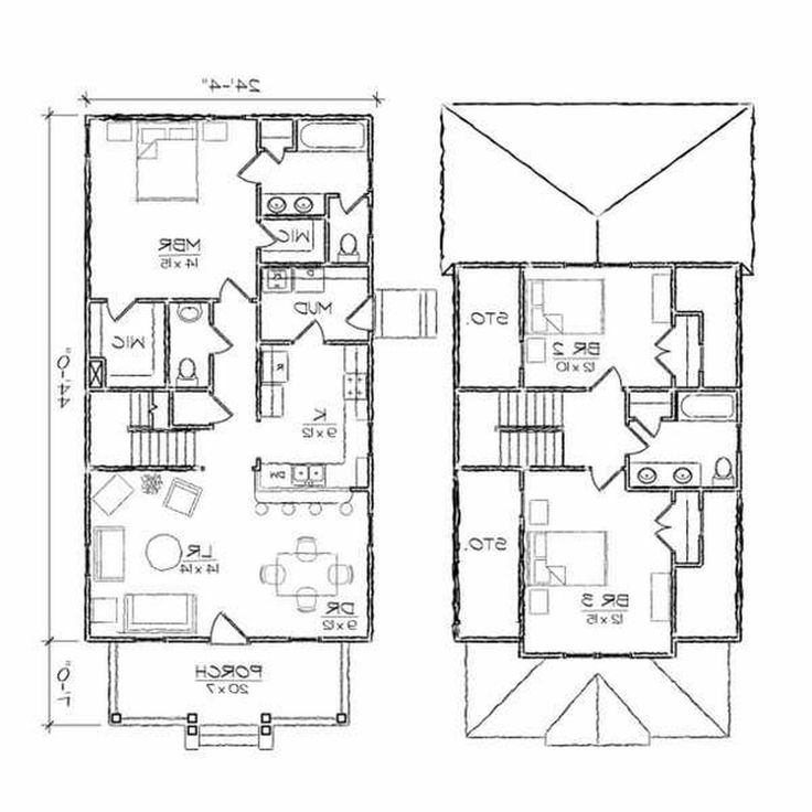 Alluring Small House Ideas Style Excellent Interior Design Mesmerizing Accessories Tone Ashleigh III Bungalow Floor Plan Plans 244 X 510