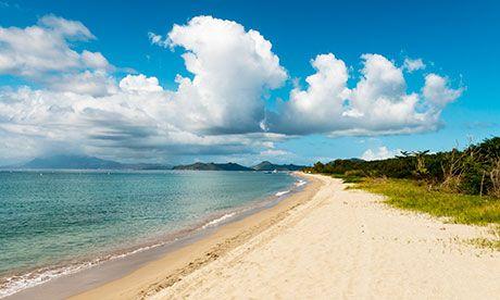 Top Ten Beaches in St Kitts #Caribbean #top10