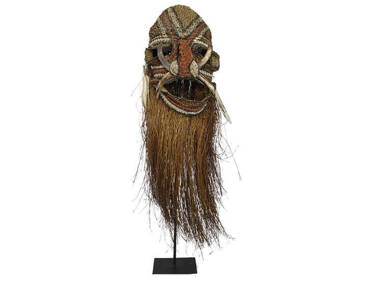 Papua New Guinea Ceremonial Mask - Large from Global Emporium