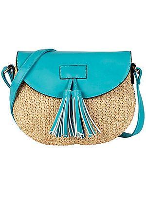 Basket Weave Shoulder Bag #Kaleidoscope #SS17 #fashion #inspo