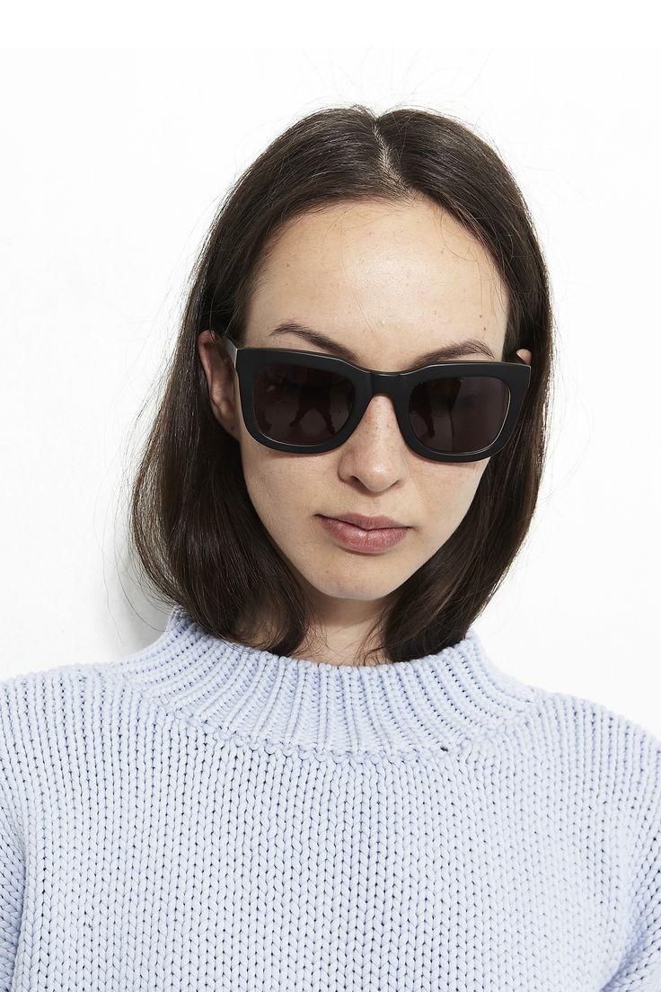 KAIBOSH | CHIPS & SALSA sunglasses in BLACK / TOBACCO STAIN