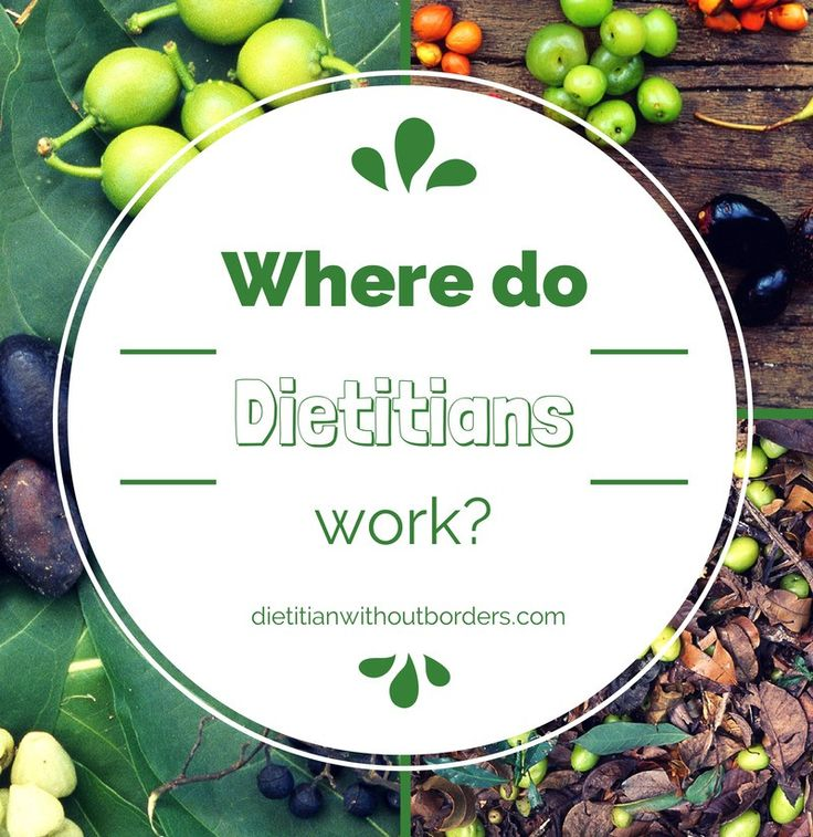 Mention that you're a dietitian at a dinner party and most people will assume you work in weight loss. Diet is part of the name right? Not so. The world of dietetics is so much more diverse than telling people how to lose weigh