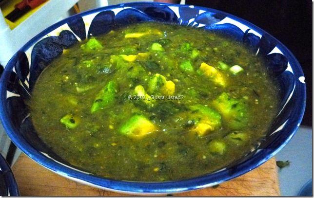 tipicas salsas  de mexico | Salsa Verde de Tomatillo Receta | LA COCINA DE NORA (cocina mexicana)