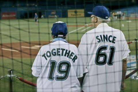 Vieux couple cute