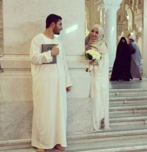 Aww mashaAllah Nikkah in Makkah ❤️