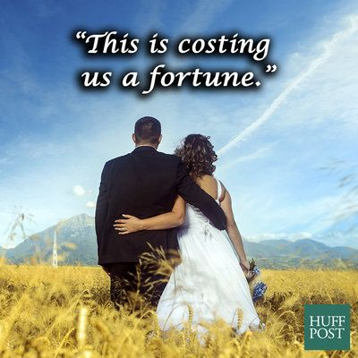 If Those Inspirational Wedding Pics Were Honest