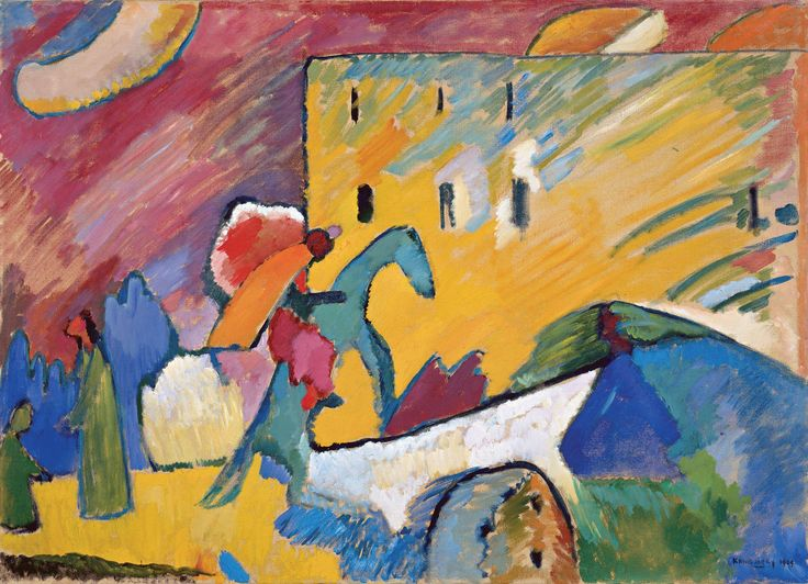 Improvisação III, Wassily Kandinsky, 1909