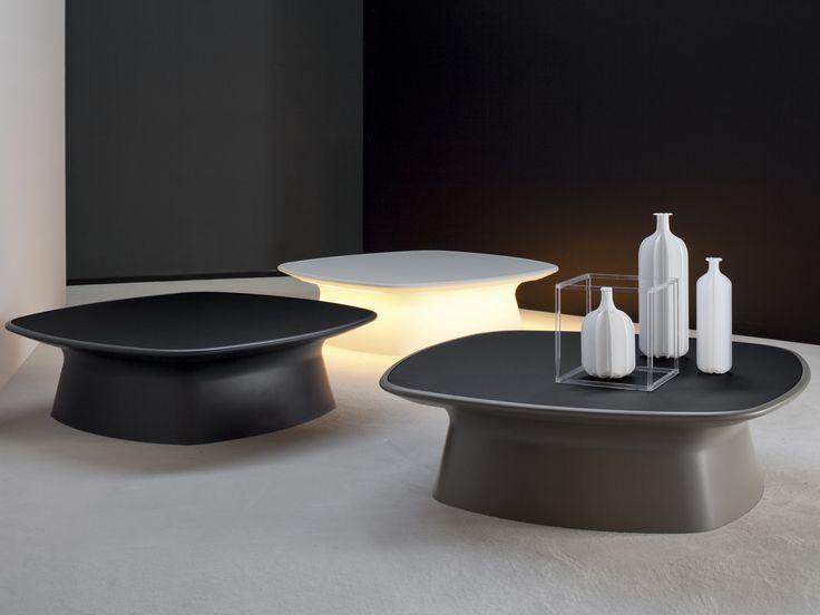 Latest Low Coffee Table Aura By Bonaldo Design Gino Carollo.