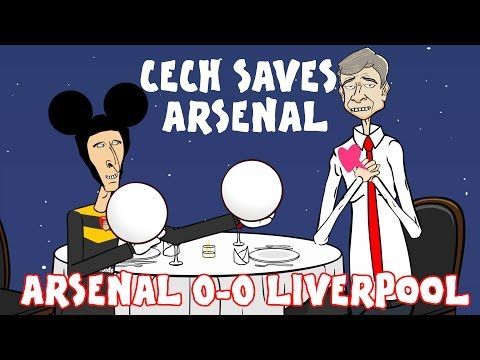 Cech and Mignolet Save Those Balls! (Arsenal 0-0 Liverpool trailer song parody) - YouTube