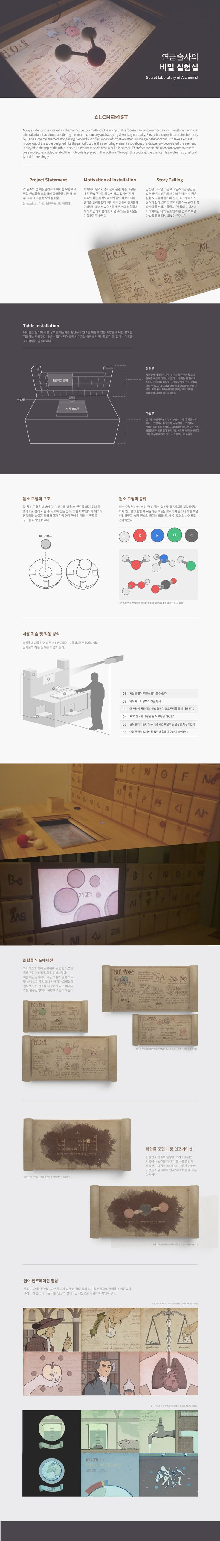 kim han sol, chae hye su, kim jin ju : 연금술사의 비밀 실험실 | Major in Digital Media Design | #hicoda | hicoda.hongik.ac.kr