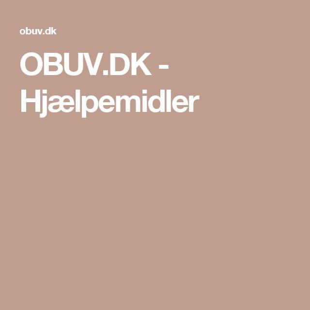 OBUV.DK - Hjælpemidler