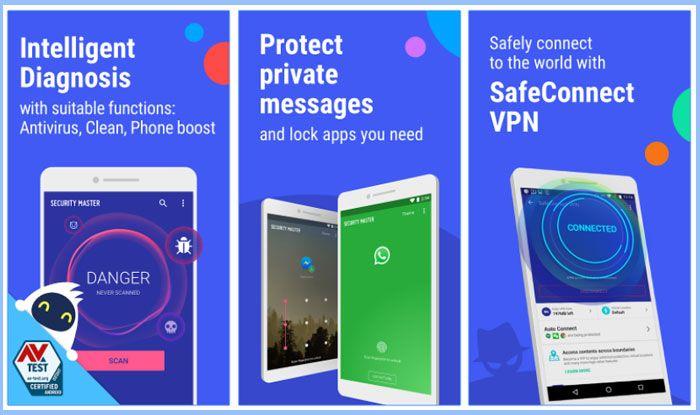 Security Master Antivirus, VPN, AppLock, Booster Apk