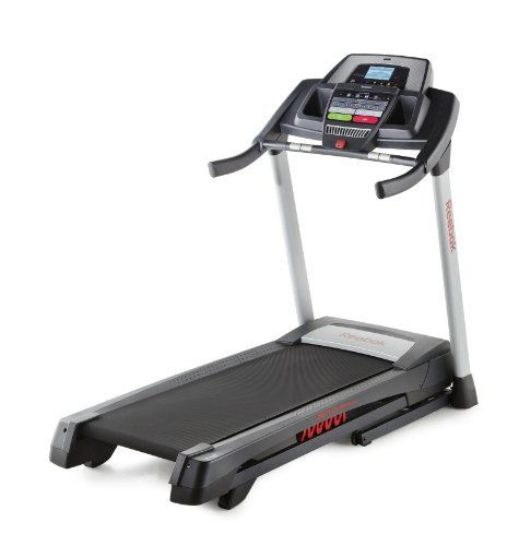 Reebok ZigTech 710 Treadmill by Reebok. $799.99. Reebok ZigTech 710 Treadmill One of the first things you notice about the Reebok Zigtech 710 Treadmill is sound – the motor and belt make virtually none, while the sound system pumps out great-sounding music from your iPod.  Getting started with a workout program is simple.  Choose from 22 built-in workout apps and press start. Or connect to thousands of personalized workouts – you can even create your own wo...