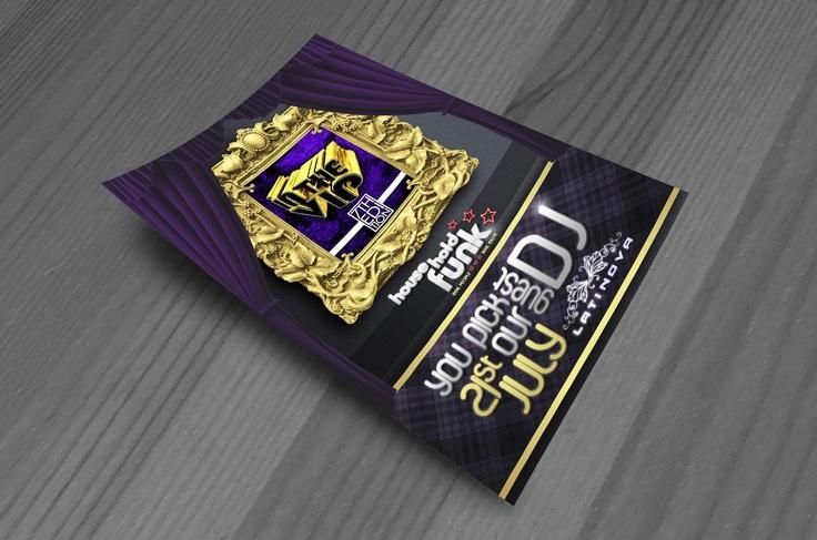 In the VIP 7 Flyer Design