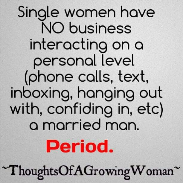 dating a married woman quotes Thus, i thought it appropriate to follow up with a post on the difference between  dating a girl, vs a woman again, many points on this post would apply if you.