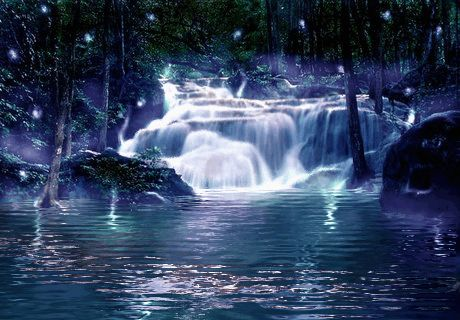 Water Animations - Oceans to Angels - Image 39 - Tranquil Waters - Fantasy Art