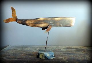 Kujira, cachalot, bois flotté, baleine, driftwood, Yakisugi, bog wood, morta, rust, tin, tôle, sperm whale
