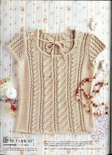 sweterki,sukienki na drutach - Danuta Zawadzka - Álbumes web de Picasa