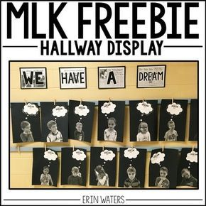 This Martin Luther King, Jr. student activity acts as a hallway display or a bulletin board display and will encourage students to think about problems and solutions in today's world and apply their thinking to be like MLK, as they brainstorm solutions and their