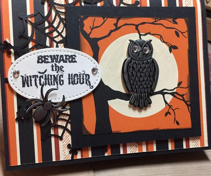Pin By Sara Cockerham On Halloween Cards