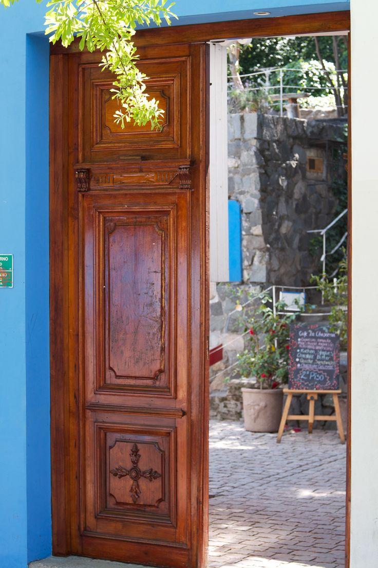Pablo Neruda Home Santiago, Chile la primera casa de pablo neruda es el santioga que la casa se llama la chascona