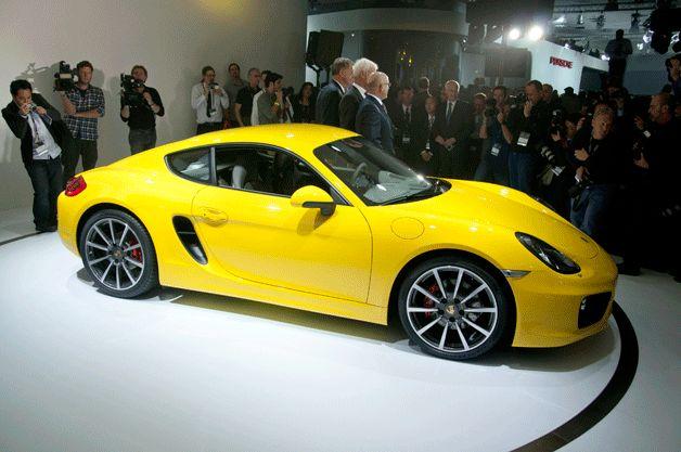 2014 Porsche Cayman @ LA Auto Show