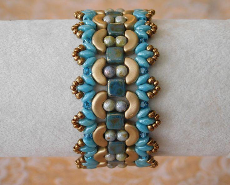 de 25 bedste id233er inden for beaded bracelets tutorial p229