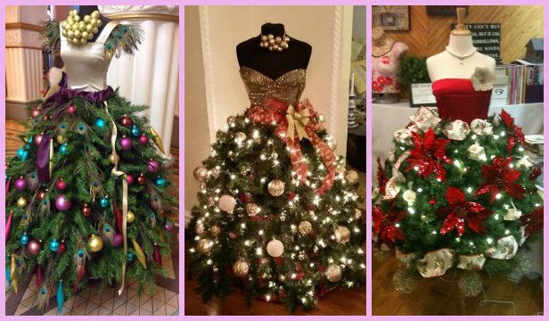 Dress Form Diy Mannequin Christmas Tree Tutorial Video Dress Form Christmas Tree Christmas Tree Dress Mannequin Christmas Tree