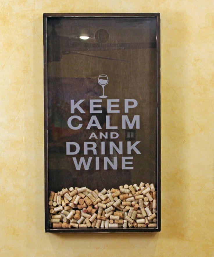 Quero para minha casa, keep Calm and drink wine