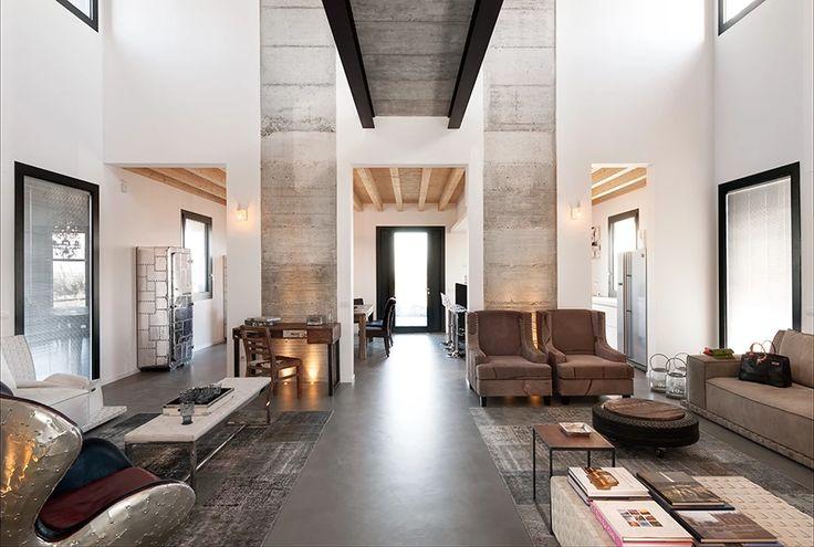 BRANDO concept  | Stalla stable interior design arredamento casa campagna materi…