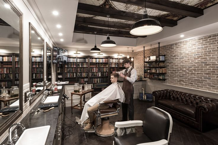 Barbershop Design on Behance