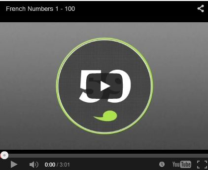 French Numbers 1-100 with audio!