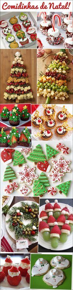 Comidinhas de Natal   Christmas food