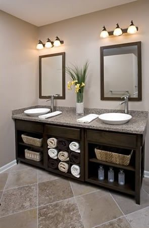 29 best jack and jill bathrooms images on pinterest - Jack and jill sinks ...