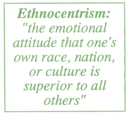 A Professionally Written Essay Sample About Ethnocentrism