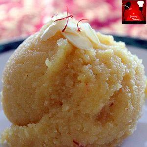 The Authentic Mohanbhog Recipe... on.fb.me/1KfGAep