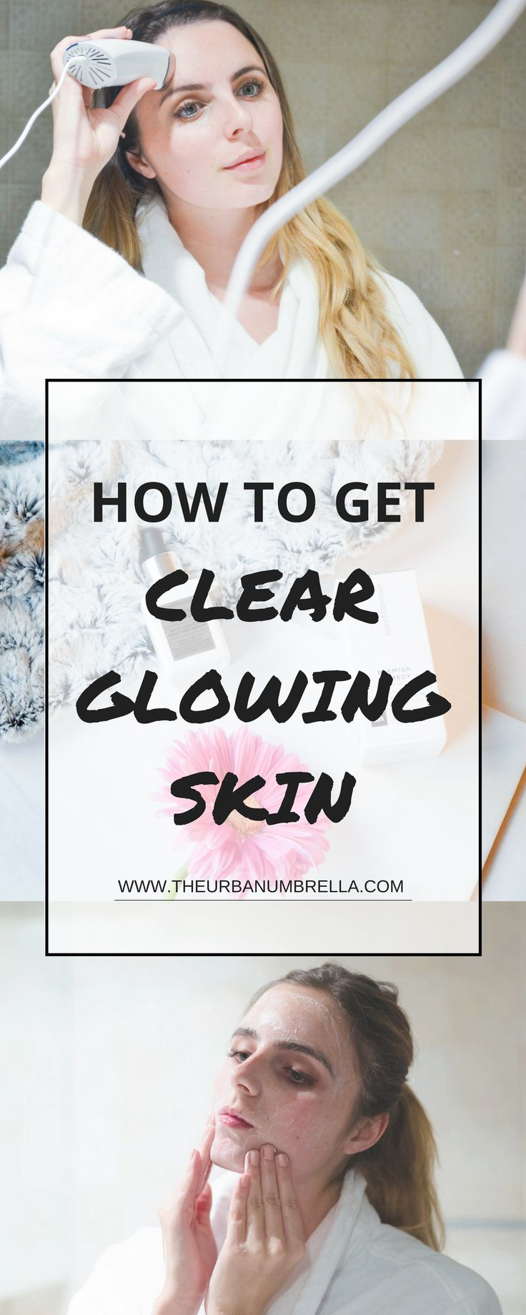 Do you struggle with acne, dull or tired looking skin? Than this is the guide for you! Learn how to reduce acne, and get glowing skin FAST with these tricks, tools, and products.