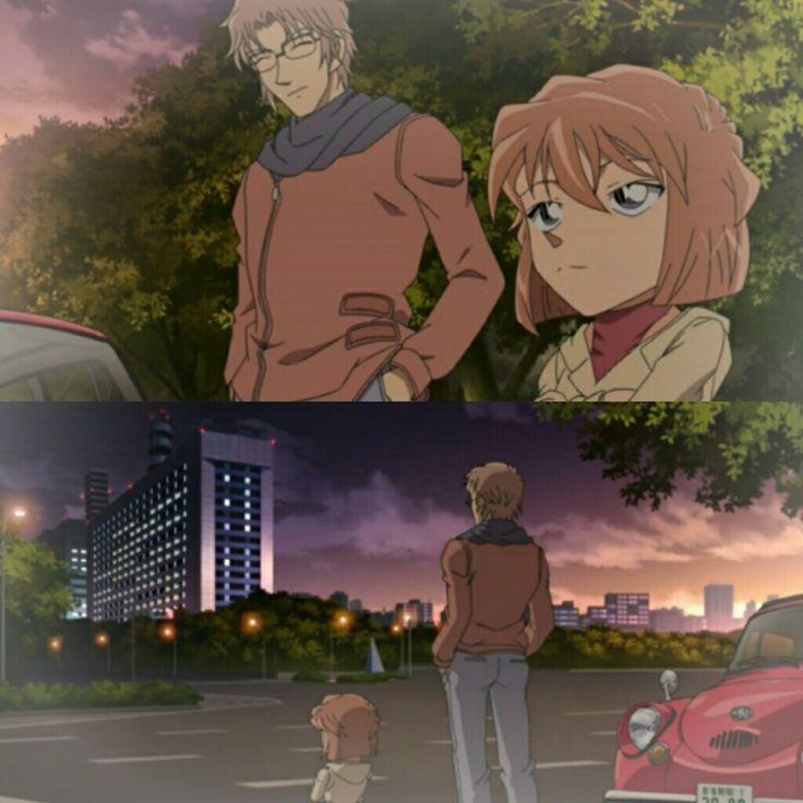 Okiya Subaru and Haibara Ai