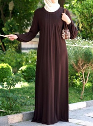 Jersey Pleated Abaya
