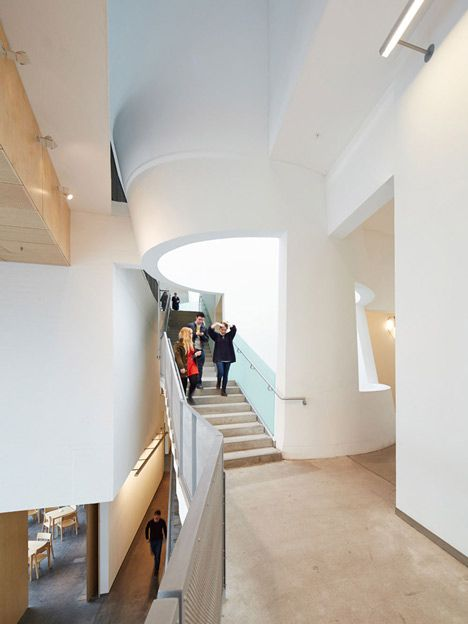 Love Like Share Steven Holl Completes Extension To Mackintosh 39 S Glasgow School Of Art Reid