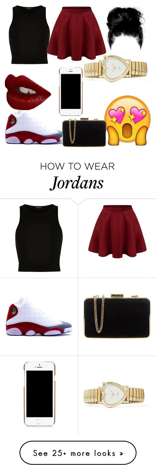""""""""""" by chassitygarrett on Polyvore featuring River Island, NIKE, Charlotte Tilbury, Moschino and MICHAEL Michael Kors"""