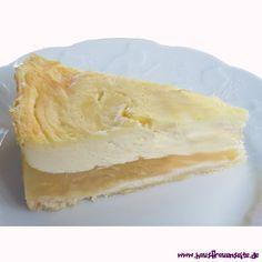 Birnen-Schmandkuchen der Birnen-Schmandkuchen ist einfach lecker vegetarisch (beim Schmand darauf achten, dass keine Gelatine enthalten ist oder Sauerrahm kaufen)