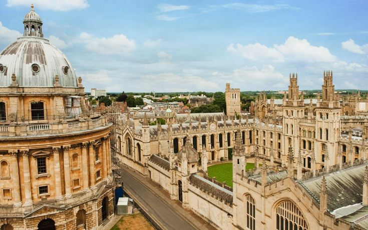 Oxford's dreaming spires and golden stone have inspired students for generations. Architectural highlights include the 18th-century Radcliffe Camera (pictured left), the Bodleian library and Magdalen College.  Picture: Alamy