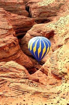 Hot Air Balloon Ride in the Grand Canyon to see the Condors