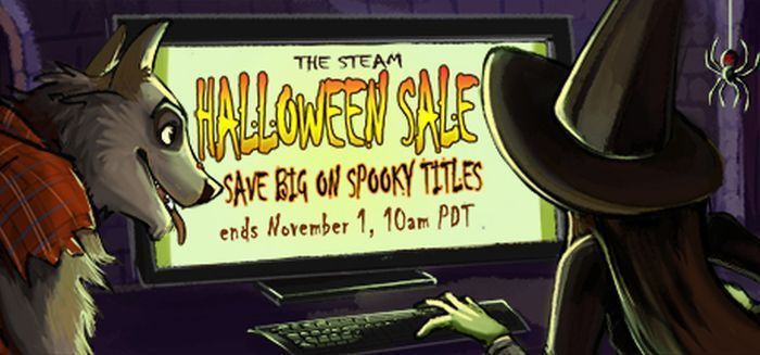 The Steam Halloween Sale lurches to life with deals on scary PC games, VR,... Valve's got a treat for gamers in the mood for tricks. The annual Steam Halloween Sale kicked off on Thursday, bringing big-time discounts to spooky games, scary VR experiences, and even horror movies..