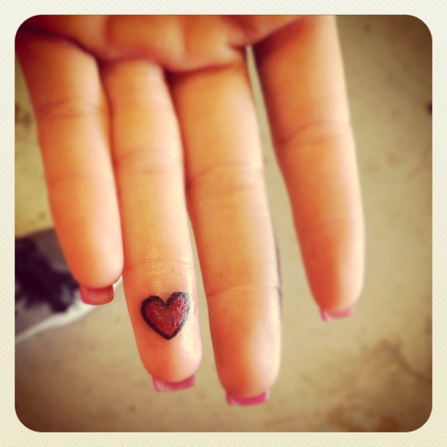 Your #heart in my hand