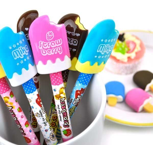 Ice Cream Bar Mini Stationery Set
